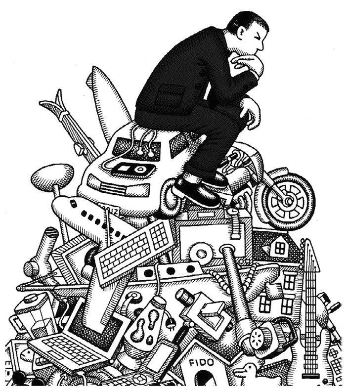 la société de consommation étude de texte svp 1ère Economie